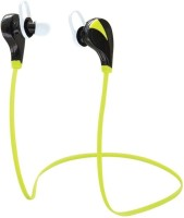 Ranbhi RQ5S Headset with Mic(Green, In the Ear)