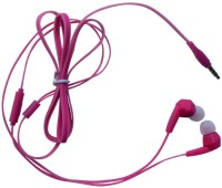 Cognetix Nura Wired Headset with Mic(Pink, In the Ear)