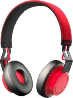 Jabra move_red Headset with Mic(Red, Over the Ear)