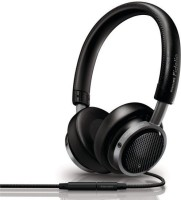 Philips FIDELIO M1MK11 Headset with Mic(Black, On the Ear)
