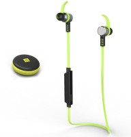 Chkokko GEAR6 Headset with Mic(Green, In the Ear)