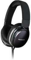 Panasonic RP-HX350E Headphone(Black, Over the Ear)