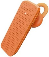 Shrih Stylish Headset with Mic(Orange, On the Ear)