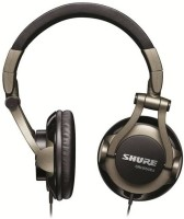 View Shure SRH550DJ Headset with Mic(Black, Over the Ear) Laptop Accessories Price Online(Shure)