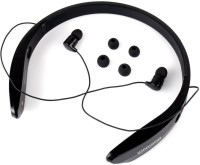 NewveZ BM170 Black Headset with Mic(Black, In the Ear)
