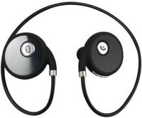 Shrih Water Resistant Headset with Mic(Black, On the Ear)