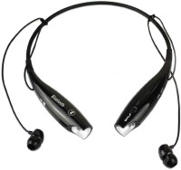 SAT SAT wireless Bluetooth headsets Headset with Mic(Black, Silver, In the Ear)