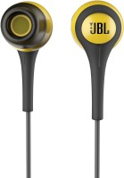 JBL T200A Headset(Yellow & Grey, In the Ear)