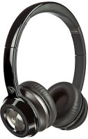 Monster 128450 Wired Headset with Mic(Black, Over the Ear)