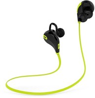 Sportzee QY7 Jogger Headset with Mic(Green, In the Ear)