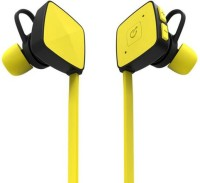 HiTechCart Sports Music Stereo M3_BL05 Headset with Mic(Yellow, Black, In the Ear)