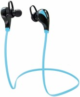 iKare sports 2 Headset with Mic(Blue, In the Ear)