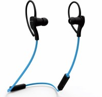 iKare sports 6 Headset with Mic(Blue, In the Ear)