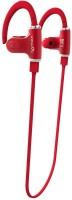 Chkokko S530 Headset with Mic(Red, In the Ear)