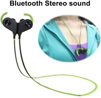 HiTechCart BT-Y8 Sweat-proof Wireless Magnet Sports Bluetooth Headset with Mic(Black, In the Ear)