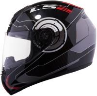 LS2 350 Motorbike Helmet(Red, Black)