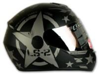 LS2 Ff352 Combat Motorbike Helmet(Matt Black)