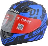 LS2 Tokyo Motorbike Helmet(Blue, Black)