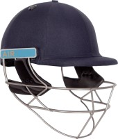 Shrey Masterclass Air Titanium Visor Cricket Helmet(Navy Blue)