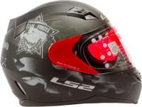 LS2 Commander Motorbike Helmet(Matt Black)