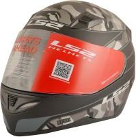 LS2 War Motorbike Helmet(Black, Grey)