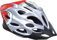 COCKATOO Red Grey Cycling Helmet(Black)