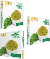 Richfeel Sojat Premium Heena Pack Of 3(600 g)