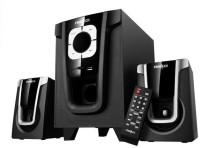 Frontech JI-3910 2.1 Subwoofer System Hi-Fi System(Black)