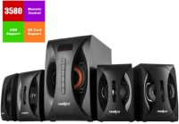 Frontech JIL-3908 4.1 USB|FM (FT) 4.1 Hi-Fi System(Black)