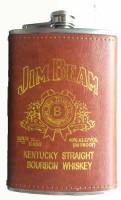 Pia International Jb Golden Border Stainless Steel Hip Flask(236 ml)