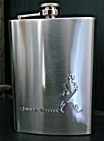 Star Magic Jonnie Walker Stainless Steel Hip Flask(296 ml)