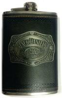 Pia International ANTIQUE LOGO Stainless Steel Hip Flask(236 ml)