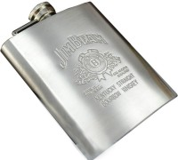 JeamBeam Best Quality Imported Stainless Steel Hip Flask(230 ml)