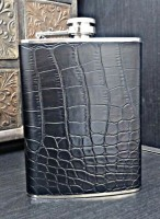 Star Magic Croco Matte Stainless Steel Hip Flask(266 ml)