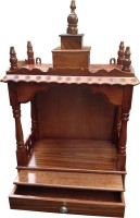 View Afydecor Traditional Open Designed Pooja Mandir with Flat Base Wooden Home Temple(Height: 45.72 cm) Furniture