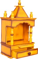 View M.K. Enterprises Wooden Home Temple(Height: 60 cm) Price Online(M.K. Enterprises)