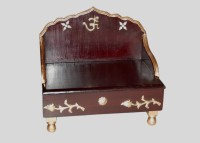 View Wood Beauty Wooden Home Temple(Height: 30 cm) Furniture