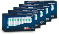 Healthbuddy Stoptar Cigarette Smoking Filter 5 Packs Plastic Outside Fitting Hookah Mouth Tip(Clear, Pack of 5)