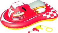 Shrih Jet Ski Rider With Integrated Water Pistole Inflatable Pool Accessory(Multicolor)