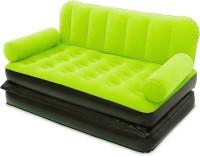 Best Way Velvet 5 in 1 Air VKI5472 Inflatable Sofa(Green)