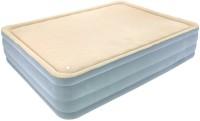 Best Way FoamTop Comfort Raised Airbed(Queen) Inflatable Air Bed(Grey)