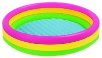 TAG3 Water Tub for Kids Swimming Inflatable Pool(Multicolor)