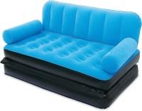 Best Way Velvet 5 in 1 Air VKI5474 Inflatable Sofa(Blue)