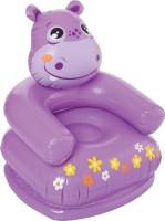 Intex Happy Animal Chair Assortment Inflatable Air Chair(Purple)
