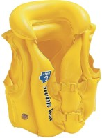 TAG3 Branded Delux Swimming Pool School Children Life Jackets Inflatable Swim Vest(Yellow)