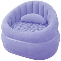 View Intex 68563 Vinyl 1 Seater Inflatable Sofa(Color - Purple) Price Online(Intex)