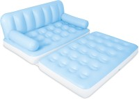 Bestway PVC 3 Seater Inflatable Sofa(Color - Blue, White)