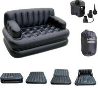 View Adil PP 4 Seater Inflatable Sofa(Color - White) Price Online(Adil)