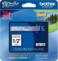 Brother P-Touch Tze-135 Single Color Ink Toner(Black)
