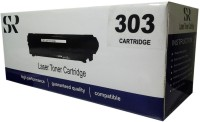 SR Toners 303 Single Color Toner(Black)